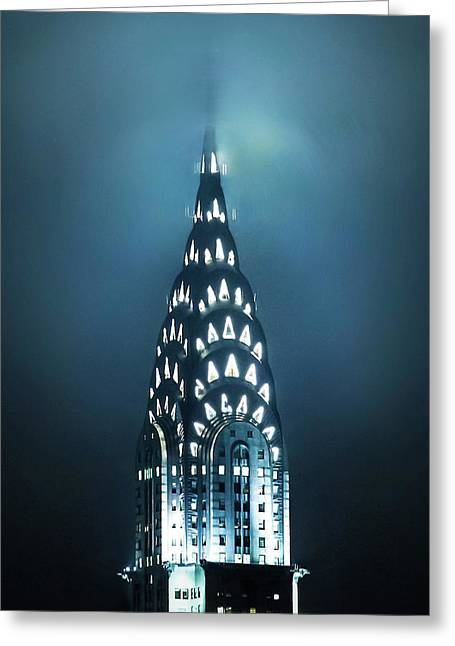 Mystical Spires Greeting Card by Az Jackson