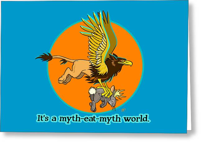 Mythhunter Greeting Card