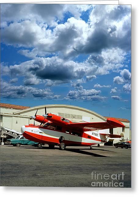 N780, Mckinnon G21g, Aleutian Goose, Turbo-prop Greeting Card