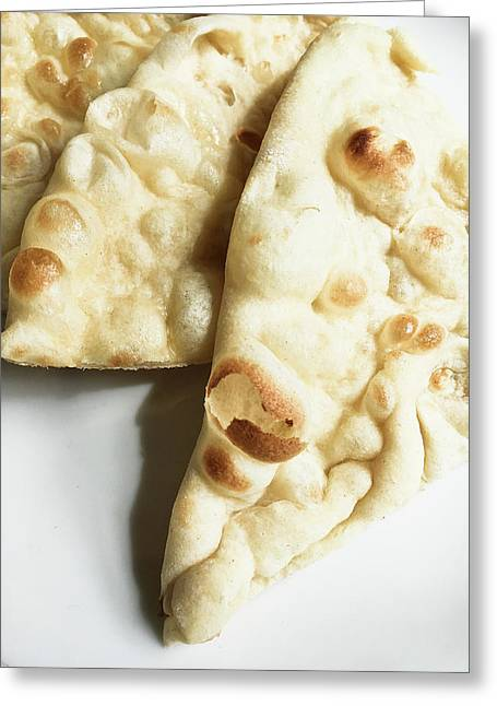 Naan Bread Greeting Card by Tom Gowanlock