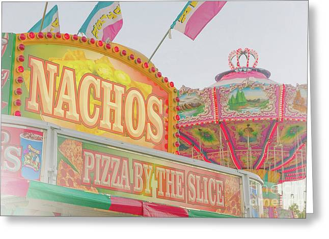 Greeting Card featuring the photograph Nachos by Cindy Garber Iverson