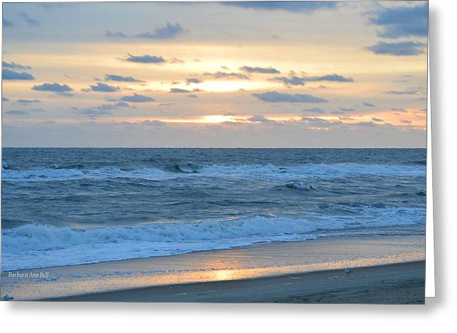 Greeting Card featuring the photograph Nags Head 11/23 by Barbara Ann Bell