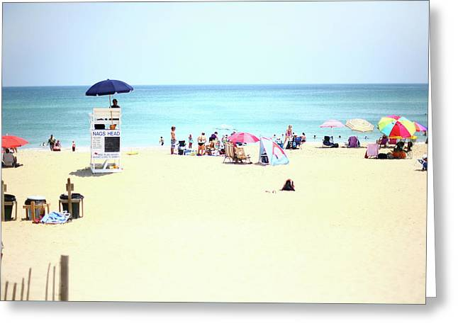 Nags Head Greeting Card