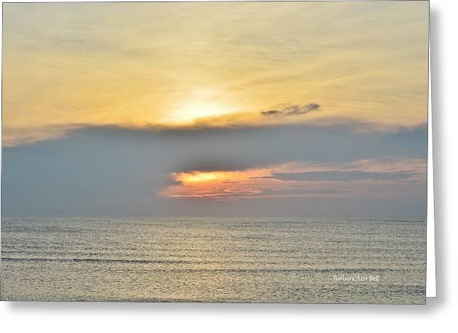 Nags Head Sunrise 7/24/16 Greeting Card