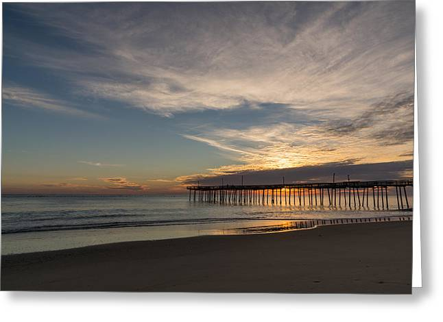 Nags Head Sunrise Greeting Card