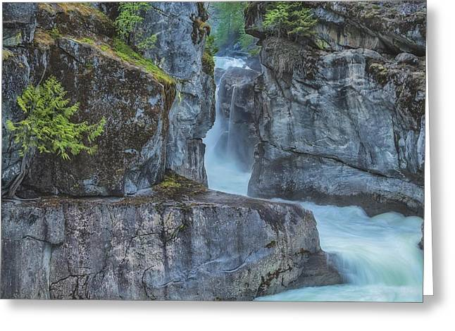 Nairn Falls Greeting Card by Jacqui Boonstra
