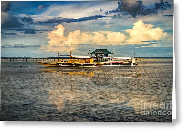 Nalusuan Boats Greeting Card
