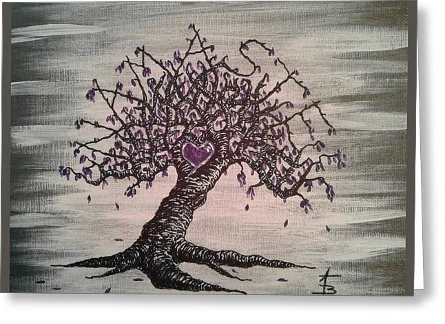 Namaste Love Tree Greeting Card