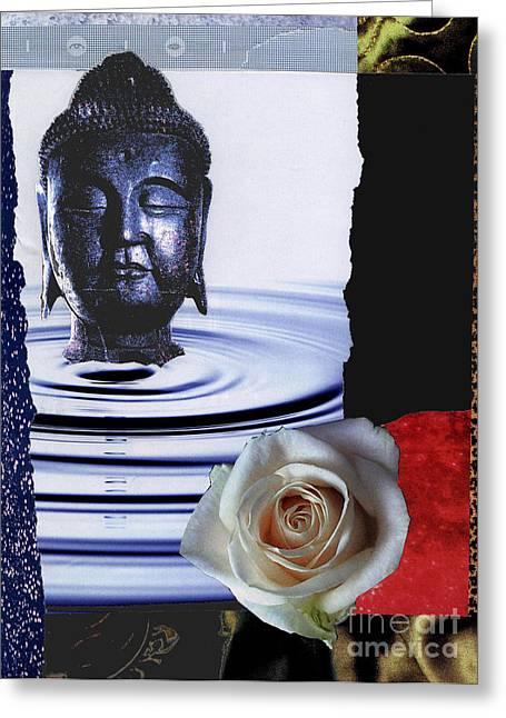Namaste Greeting Card by Pederbeck Arte Gruppe