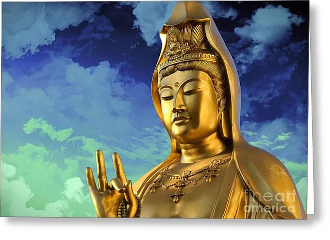 Namo Guan Shi Yin Pusa Greeting Card
