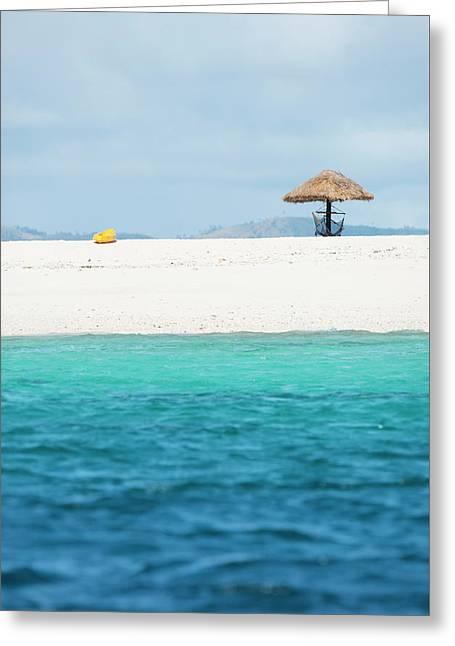 Greeting Card featuring the photograph Namotu Beach by Brad Scott