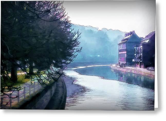 Namur 2 Greeting Card by Terry Davis