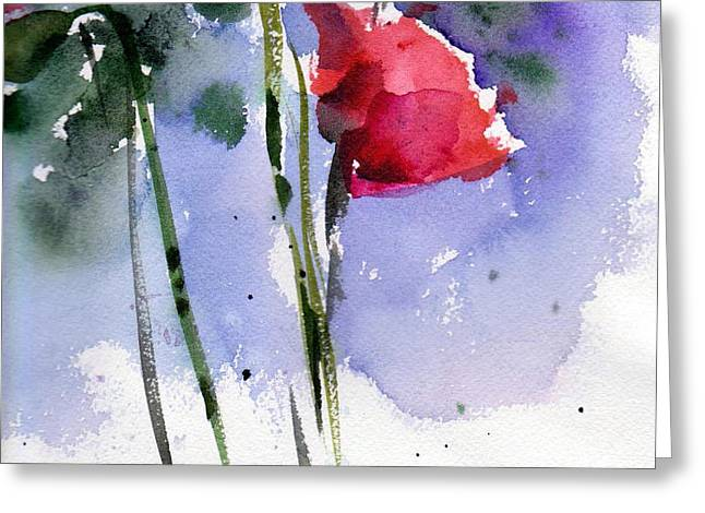 Nancy Jane's Rose Greeting Card