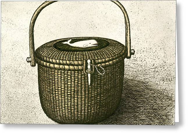 Nantucket Basket Greeting Card