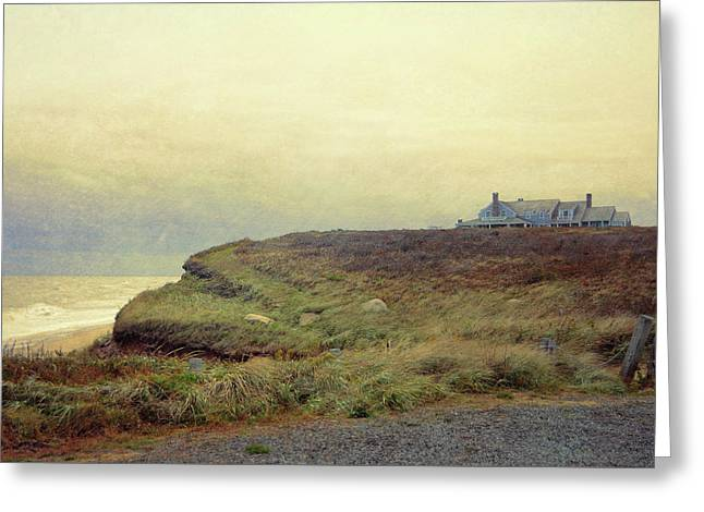 Nantucket Bluff Greeting Card by JAMART Photography