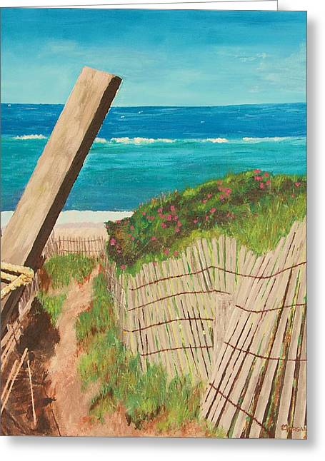 Nantucket Dream Greeting Card