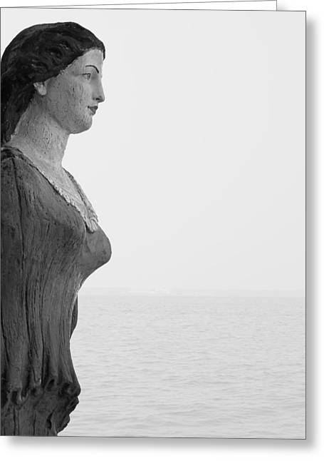 Nantucket Figurehead Greeting Card