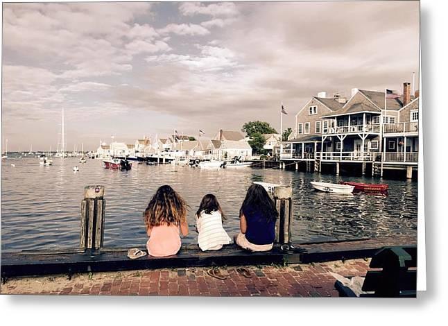 Nantucket Island Greeting Card