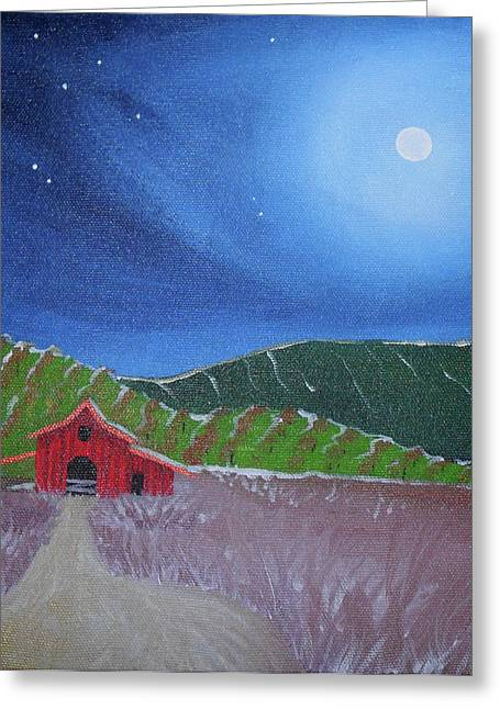 Napa Greeting Card by Julie Hulford