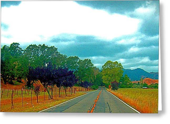Napa Valley - California Greeting Card