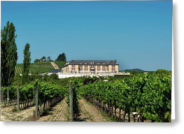 Napa Valley Vineyard And Winery Greeting Card by Mountain Dreams