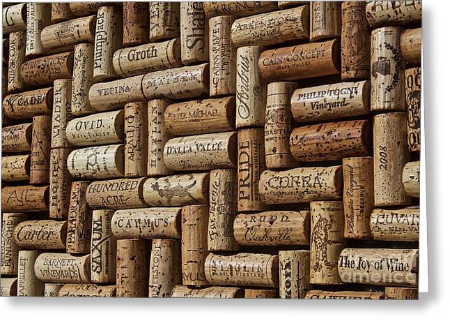 Napa Valley Wine Auction Greeting Card by Anthony Jones