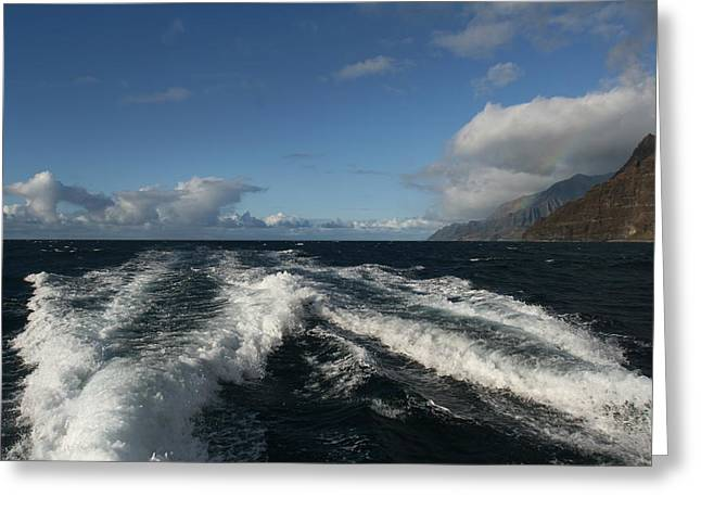 Napali Coast Greeting Card