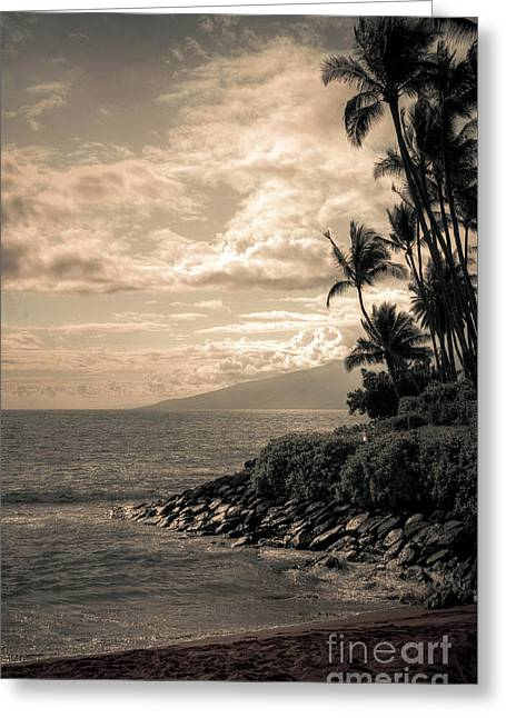 Greeting Card featuring the photograph Napili Heaven by Kelly Wade