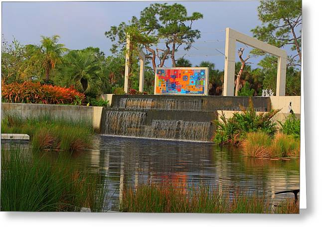 Naples Botanical Garden Greeting Card