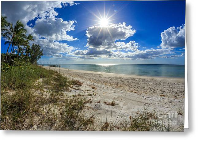 Naples, Florida Beach Greeting Card