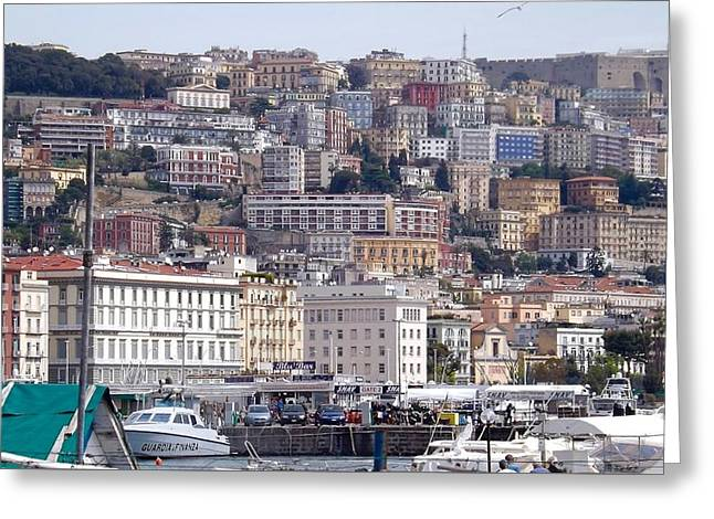 Naples In The Spring Greeting Card