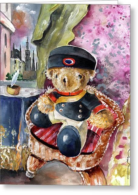 Napoleon Bearnaparte Greeting Card