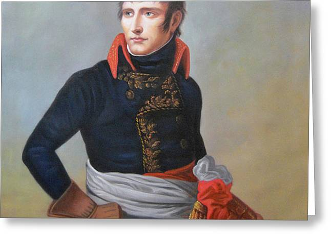 Napoleon Bonaparte As First Consul Greeting Card
