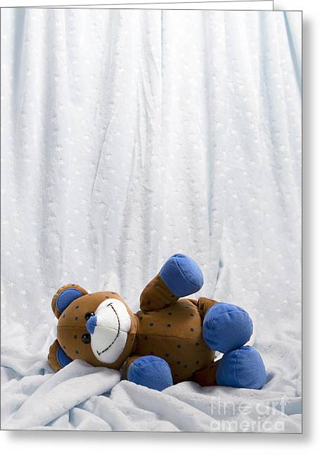 Naptime 2 Greeting Card by Jeannie Burleson