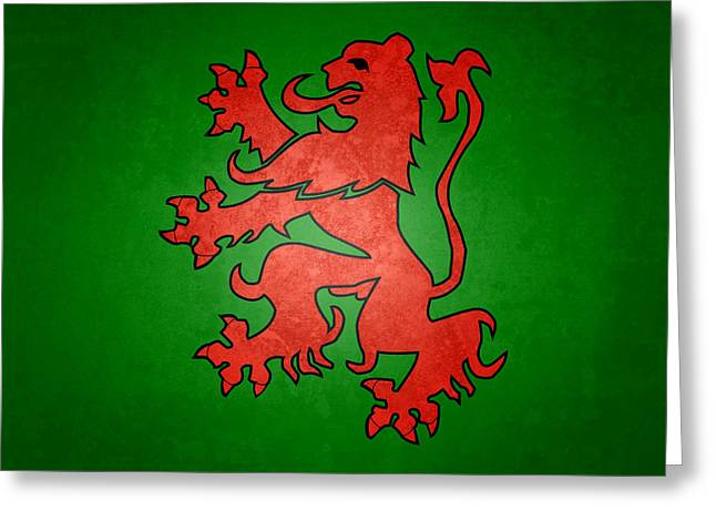 Narnia Coat Of Arms Greeting Card