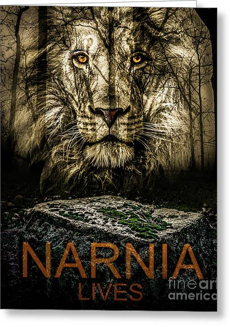 Greeting Card featuring the photograph Narnia Lives by Michael Arend