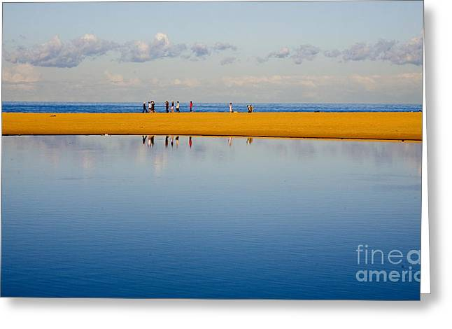 Narrabeen Dunes Greeting Card by Sheila Smart Fine Art Photography