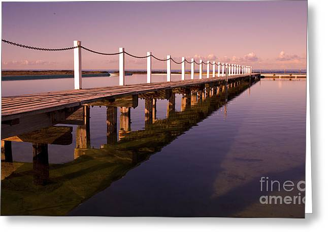 Narrabeen Sunrise Greeting Card by Sheila Smart Fine Art Photography