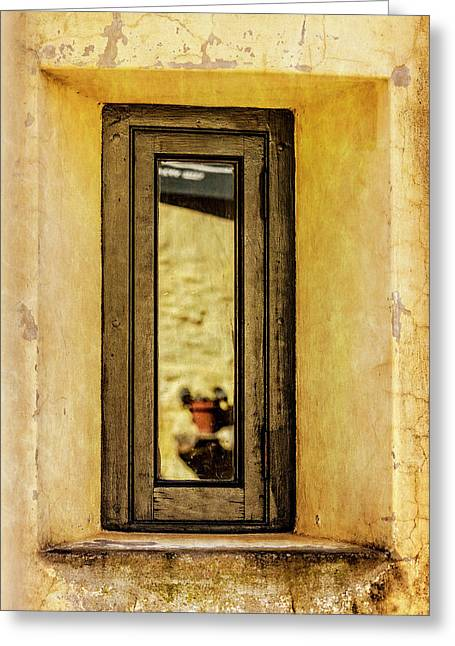 Narrow Reflections Greeting Card
