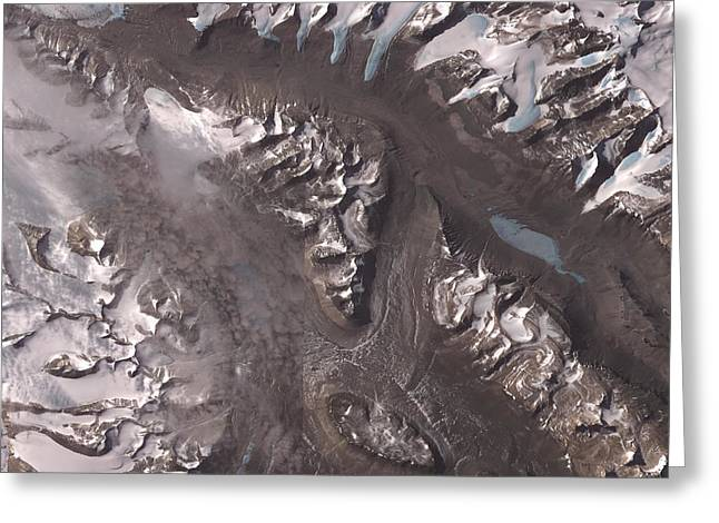 Nasa Image-dry Valleys, Antarctica-2 Greeting Card