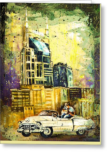 Nashville Authentic Madness Greeting Card