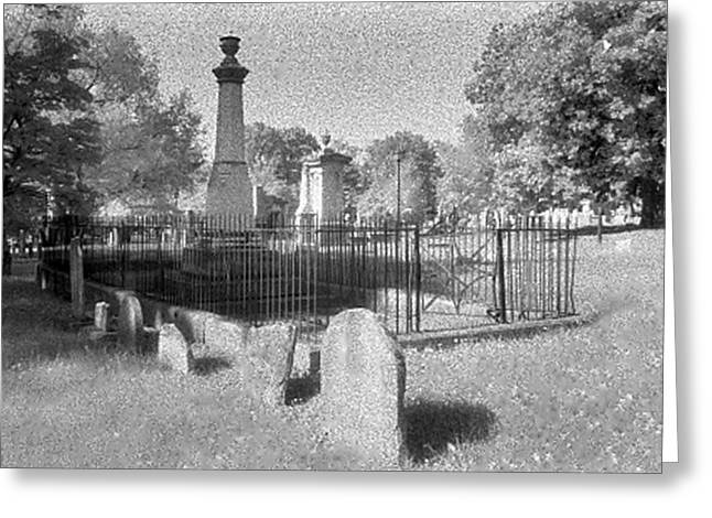 Nashville City Cemetery - 1 Greeting Card by Randy Muir