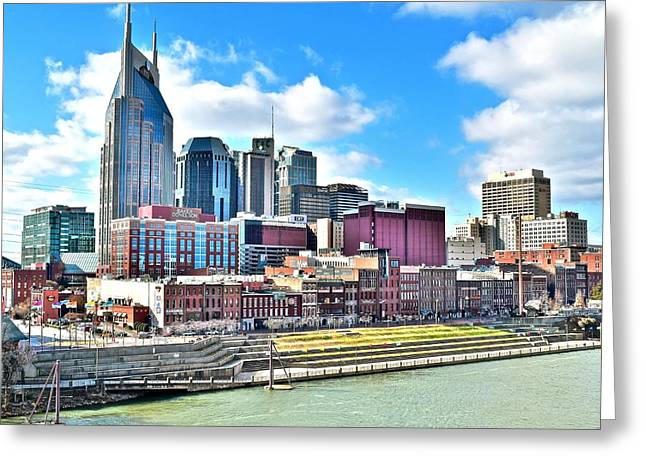 Nashville Eight By Ten Greeting Card