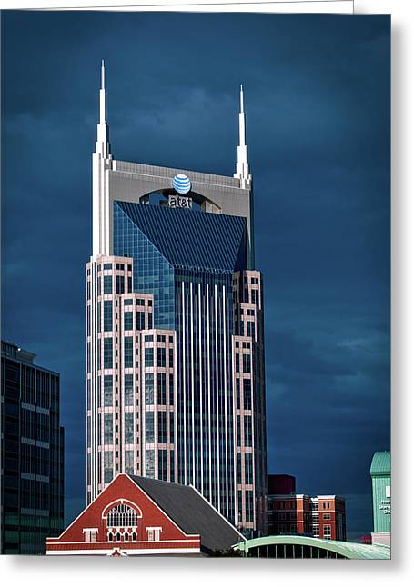 Nashville Landmarks Greeting Card by Mountain Dreams