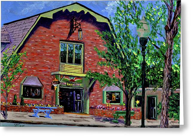 Nashville Shop IIi Greeting Card by Stan Hamilton