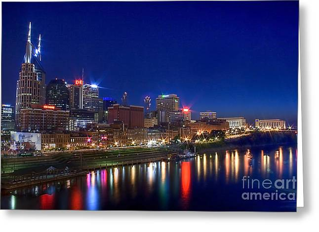 Nashville Skyline Greeting Card