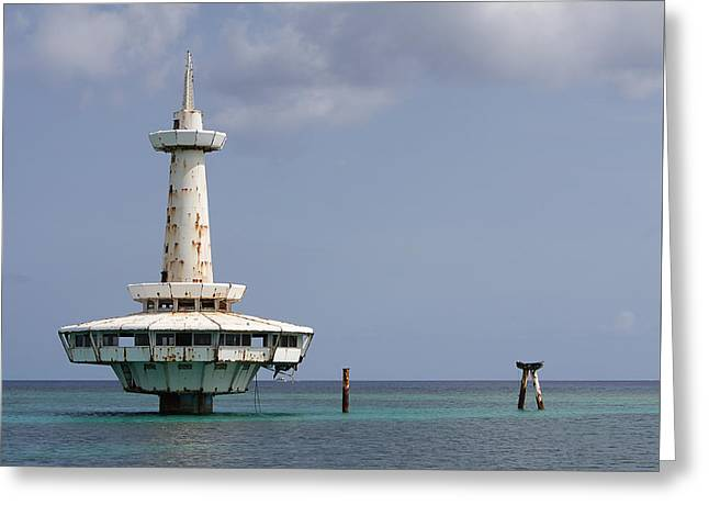 Nassau - Coral World Redux Greeting Card by Richard Reeve