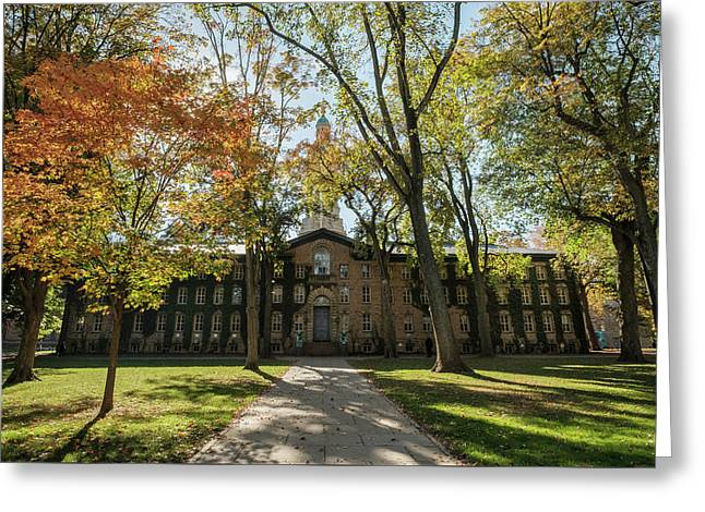 Nassau Hall Princeton University Greeting Card