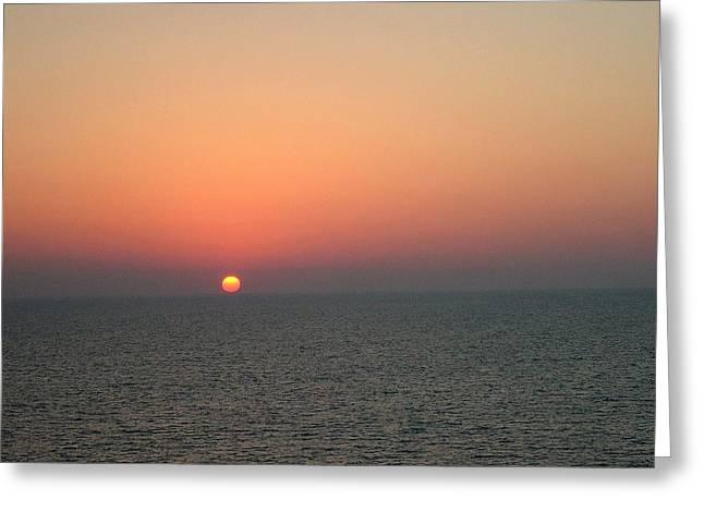 Nassau Sunset Greeting Card