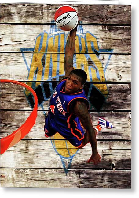 Nate Robinson 2c Greeting Card